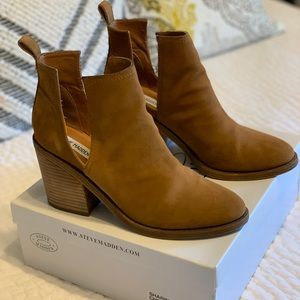 "Steve Madden ""sharini"" cut-out booties"